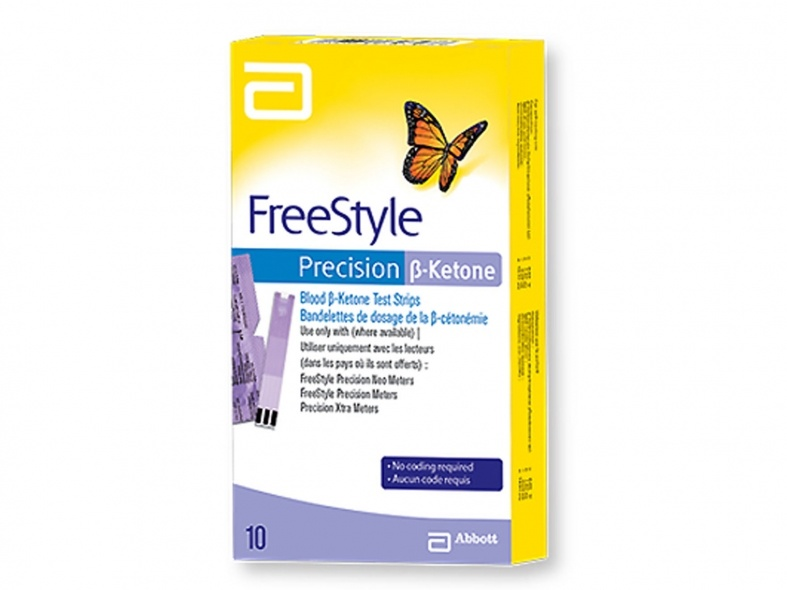 Abbott Freestyle Precision B Ketone 10 Teststreifen