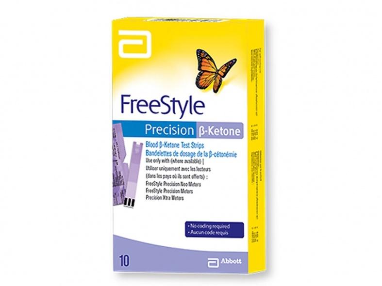 Abbott Freestyle Precision B Ketones 10 test strips