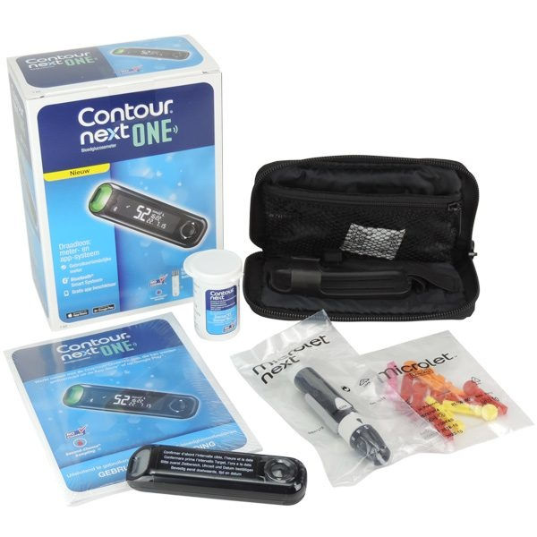 Contour Next One glucose meter starter kit