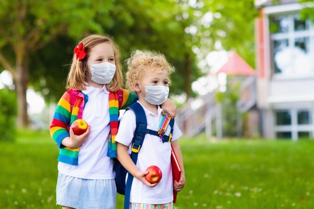 Mondmaskers  Kids Mask kindermaskers - 3 laags 50 stuks