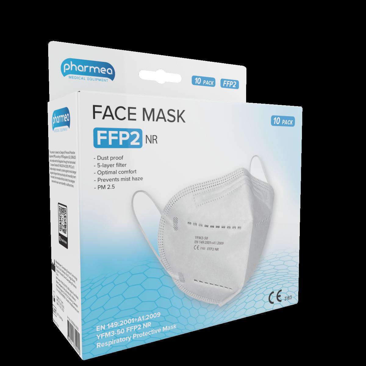 Gesichtsmaske FFP2 Mundmasken 10 Stück