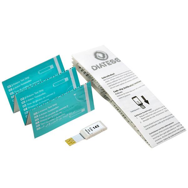 Diatesse XPER Startpakket - Glucosemeter & Ketonenmeter + 10 ketonenstrips