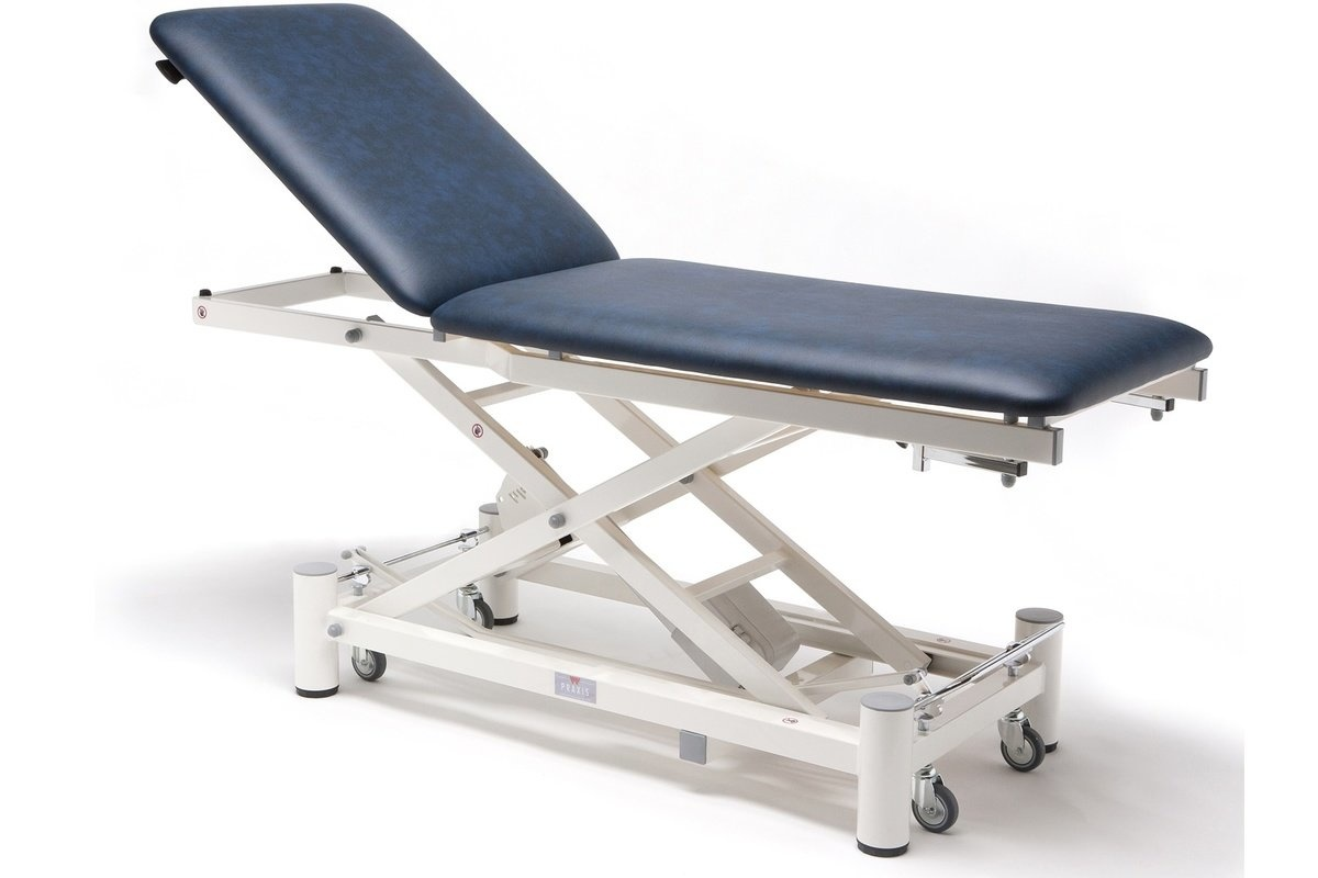 Praxis Elite 2 electric examination couch