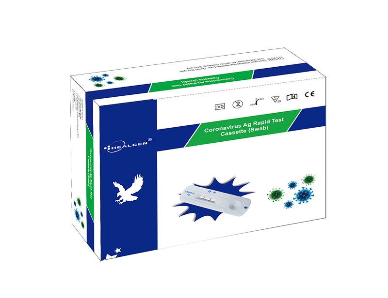 Healgen - COVID-19 rapid test, Corona-Antigen test, nose swab - approved by VWS