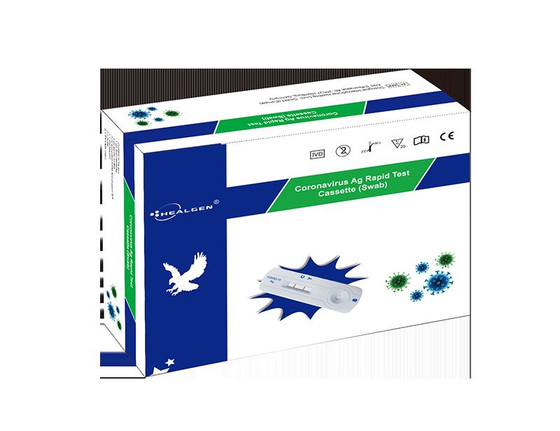 Healgen - COVID-19-Schnelltest, Corona-Antigen-Test, Nasentupfer - von VWS zugelassen
