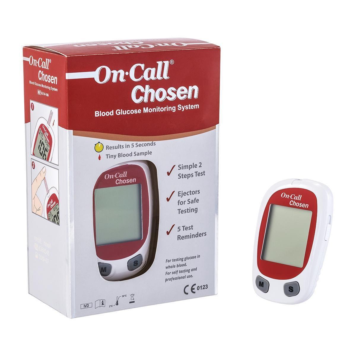 On Call Chosen Glucose Meter Go-keto