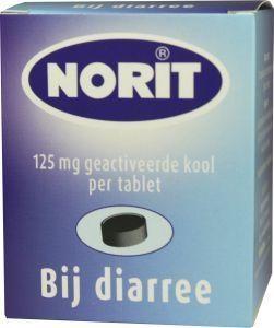 Norit 125 mg 180 tabletten