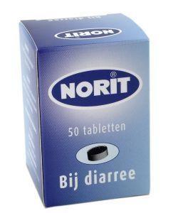 Norit 125 mg 50 tabletten