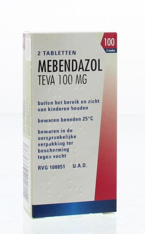 Mebendazol 100 mg wormkuur