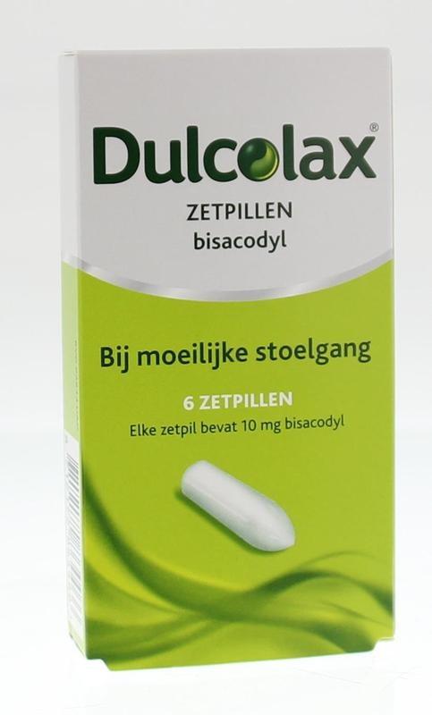 Dulcolax 10 mg 6 Zäpfchen