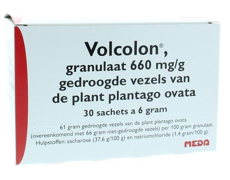 Volcolon granules 6 grams 30 sachets