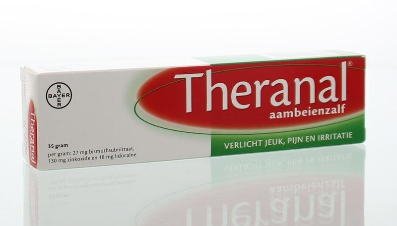 Theranal Hemorrhoids Ointment 35 grams