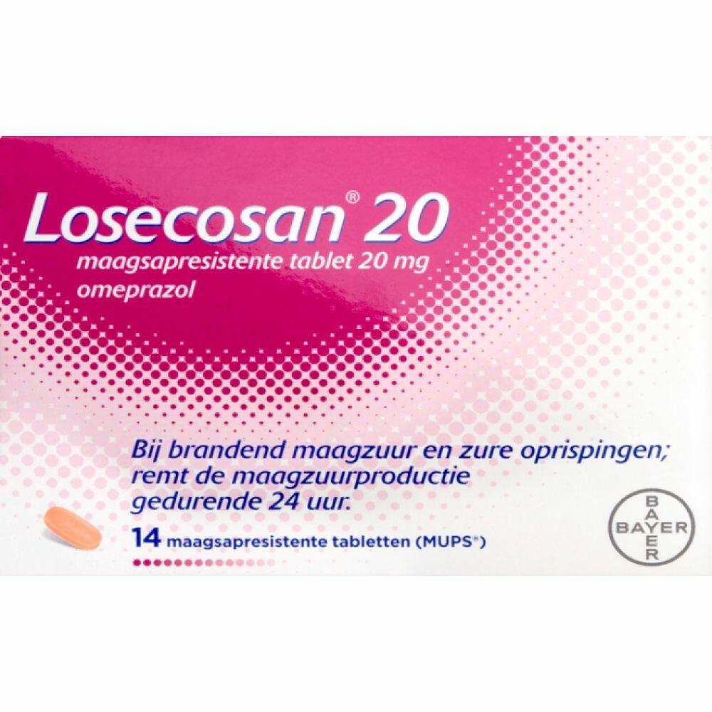 Losecosan 20 mg 14 tablets