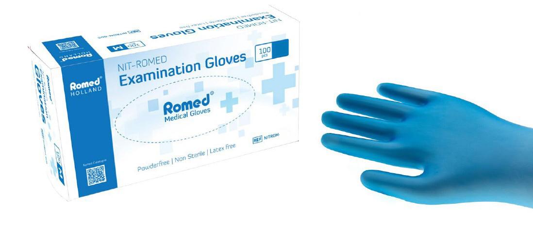 Nit-Romed gloves - extra large