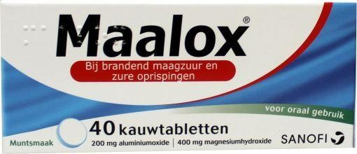 Maalox 40 kauwtabletten
