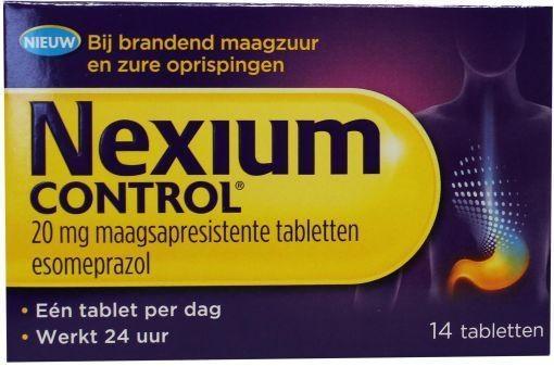 Nexium control UAD - 14 tabletten