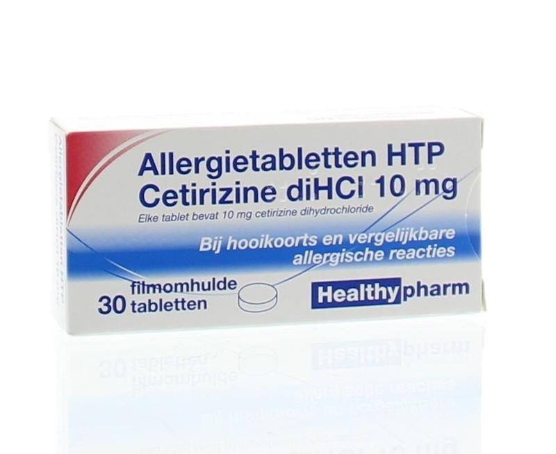 Cetirizin 10 mg - 30 Tabletten