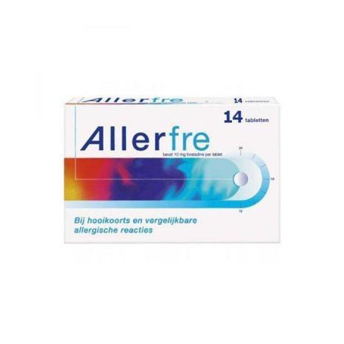 Allerfre 10 mg - 14 tabletten