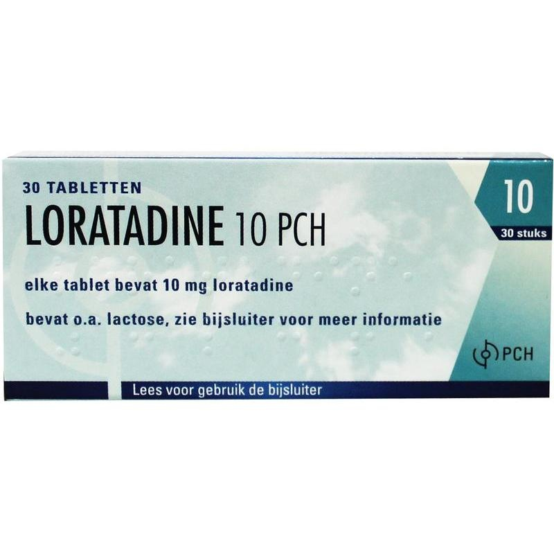 Loratadine 10 mg - 30 tabletten