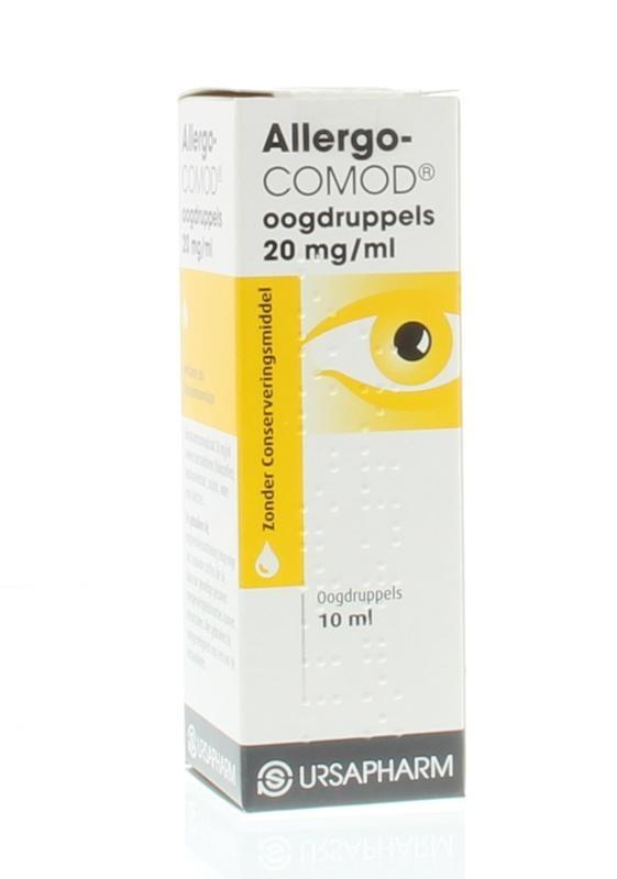 Allergo-comod oogdruppels - 10 ml