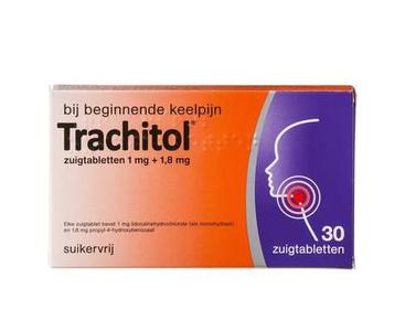 Trachitol - 30 zuigtabletten