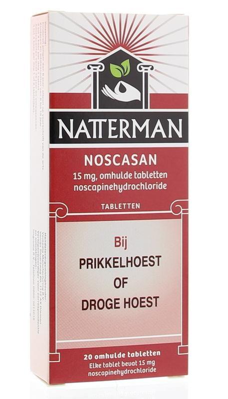 Natterman Noscasan - 20 tabletten
