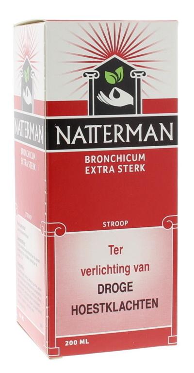 Natterman Bronchicum extra sterk - 200 ml