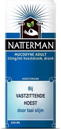 Natterman Mucodyne adult - 200 ml