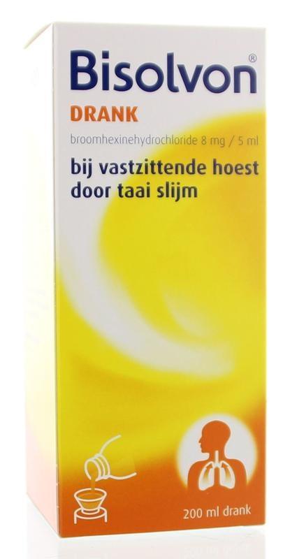 Bisolvon Drank 8 mg/5 ml - 200 ml