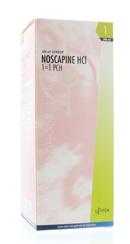 Noscapine siroop HCL - 300 ml