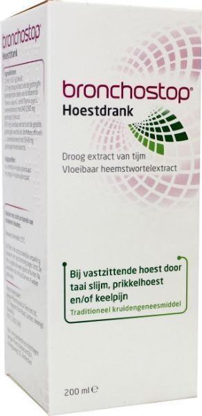 Bronchostop Hoestdrank - 200 ml