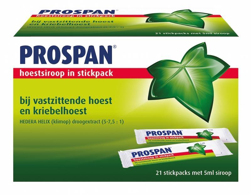 Prospan Hedera helix stickpack 5 ml  - 21 stuks