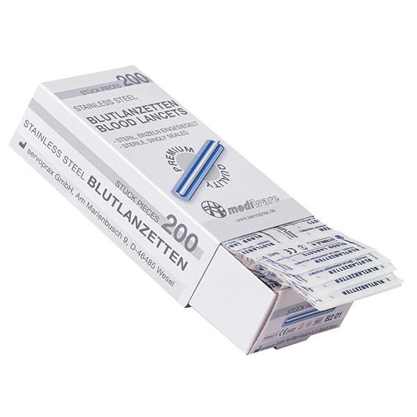 Mediware Blutlanzetten - 200 Stück