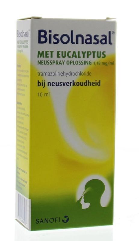 Bisolnasal neusspray met eucalyptus UAD - 10 ml