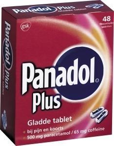 Panadol plus glad - 48 tabletten