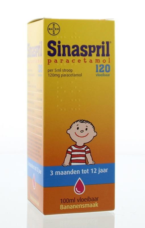 Sinaspril 120 mg vloeibaar UAD - 100ml