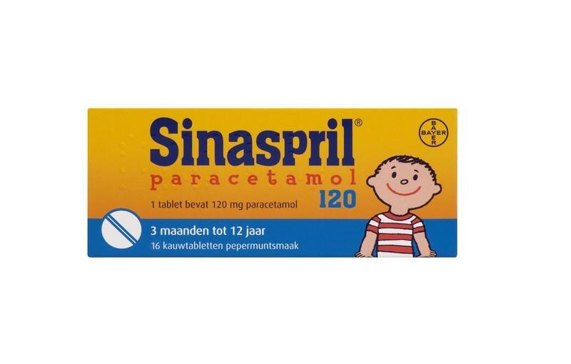 Sinaspril 120 mg - 16 tabletten