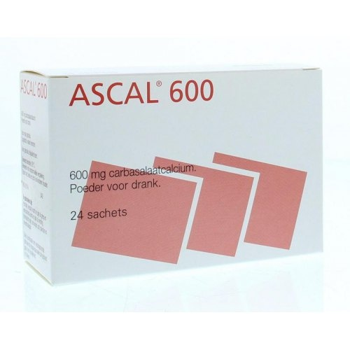 Ascal 600 mg - 24 sachets