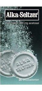 Alka Seltzer UAD - 20 bruistabletten