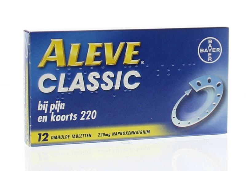Aleve Classic - 12 tabletten