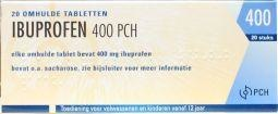 Teva Ibuprofen 400 mg - 20 tabletten