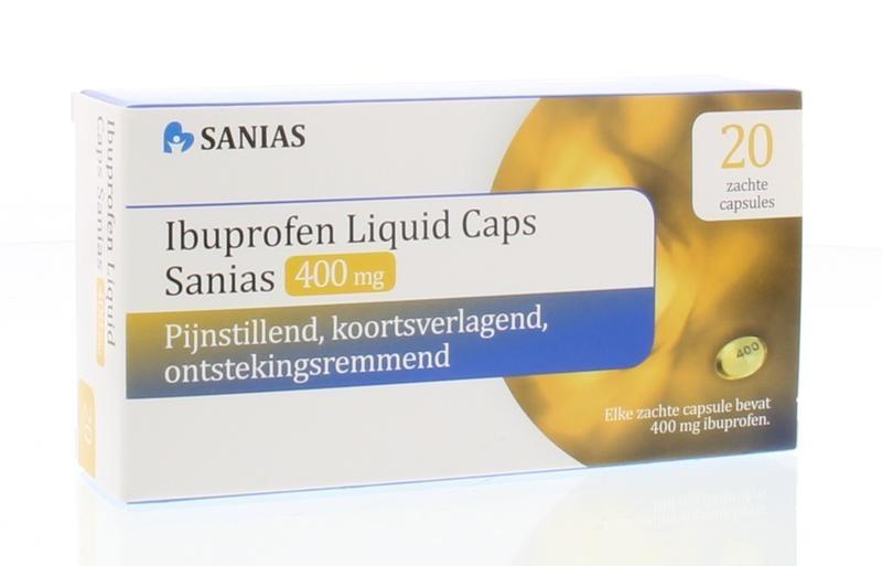 Sanias Ibuprofen liquid 400 mg - 20 stuks