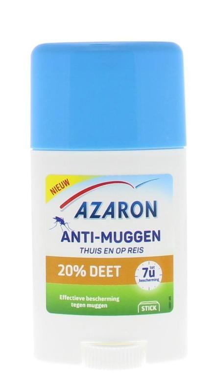 Azaron Anti muggen 20% deet stick
