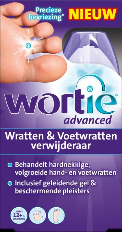 Wortie Wrattenverwijderaar advanced - 50 ml