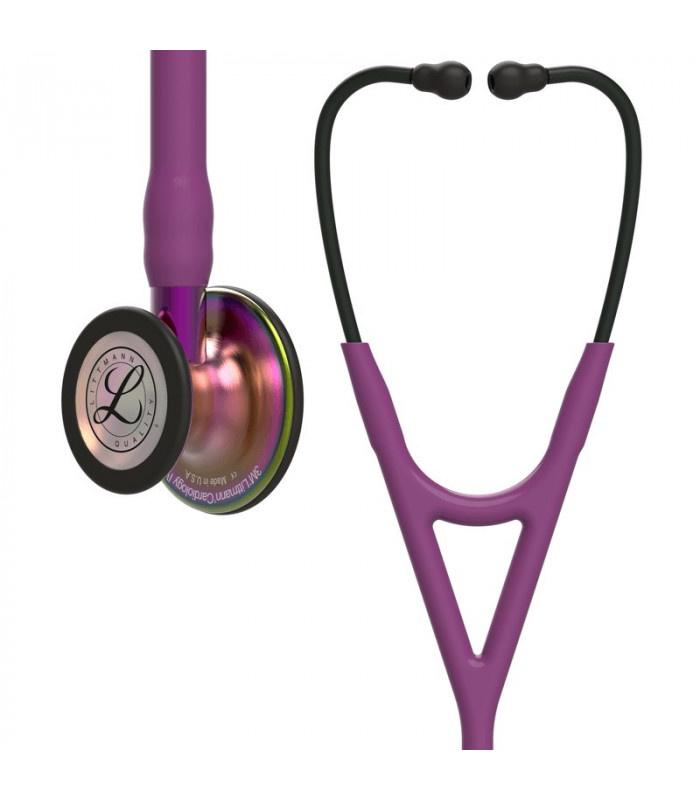"""LITTMANN® """"CARDIOLOGY IV"""" - 6205 - pruim regenboog - violet"""