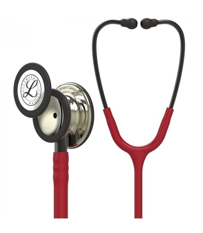 Littmann® Classic III Stethoscope - bordeaux - smoke - mirror