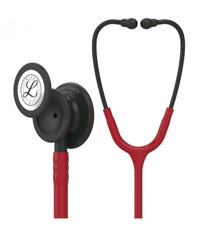 Littmann® Classic III Stethoscope - bordeaux - zwart