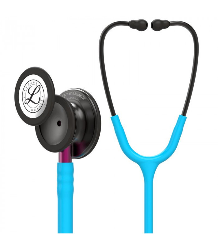 Littmann® Classic III Stethoscope - torquise -smoke - roze