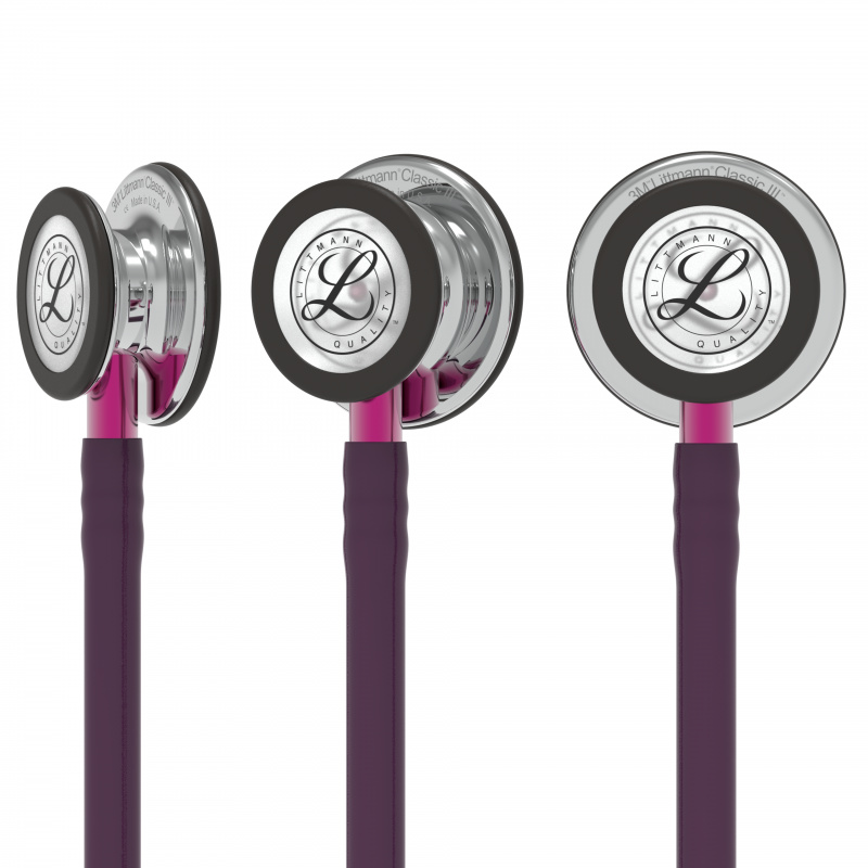 Littmann® Classic III Stethoscope - pruim - mirro - smoke