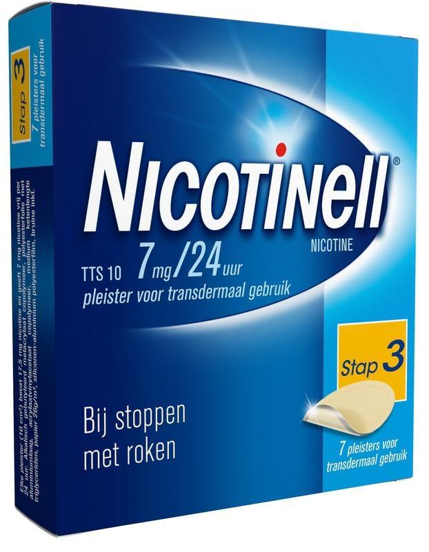 Nicotinell TTS10 7 mg Pflaster 7 Stk